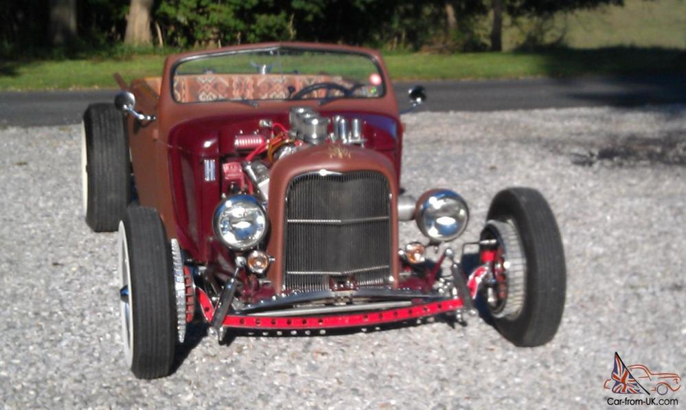 medium resolution of custom hotrod roadster pickup plymouth ford chevy 3x2 4 speed traditional 32 39