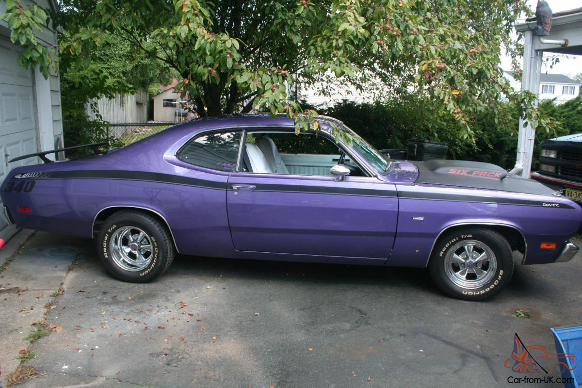 hight resolution of 1970 plymouth duster 360six pack photo