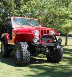 1979 jeep cj5 lifted frame off cj 5 w flat fender rock mud no reserve must see [ 1066 x 800 Pixel ]