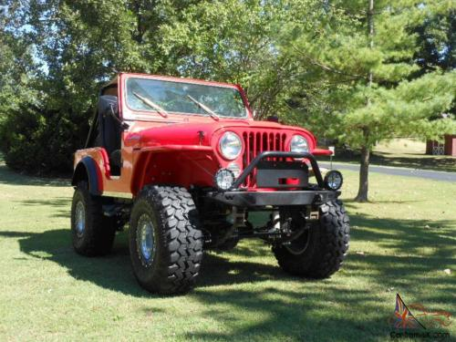 small resolution of 1979 jeep cj5 lifted frame off cj 5 w flat fender rock mud no reserve must see