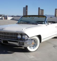 1962 cadillac deville 62 series convertible v 8 loaded nevada car triple white [ 1260 x 800 Pixel ]