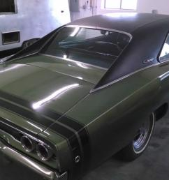 1968 dodge charger 383 4 speed a c rustfree survivor 69 70 not r  [ 1422 x 800 Pixel ]