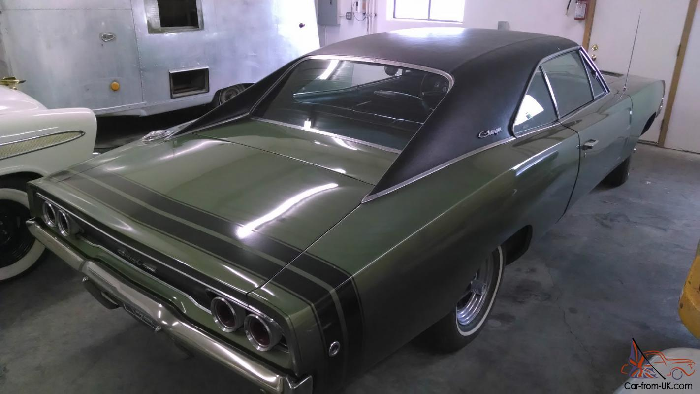 hight resolution of 1968 dodge charger 383 4 speed a c rustfree survivor 69 70 not r