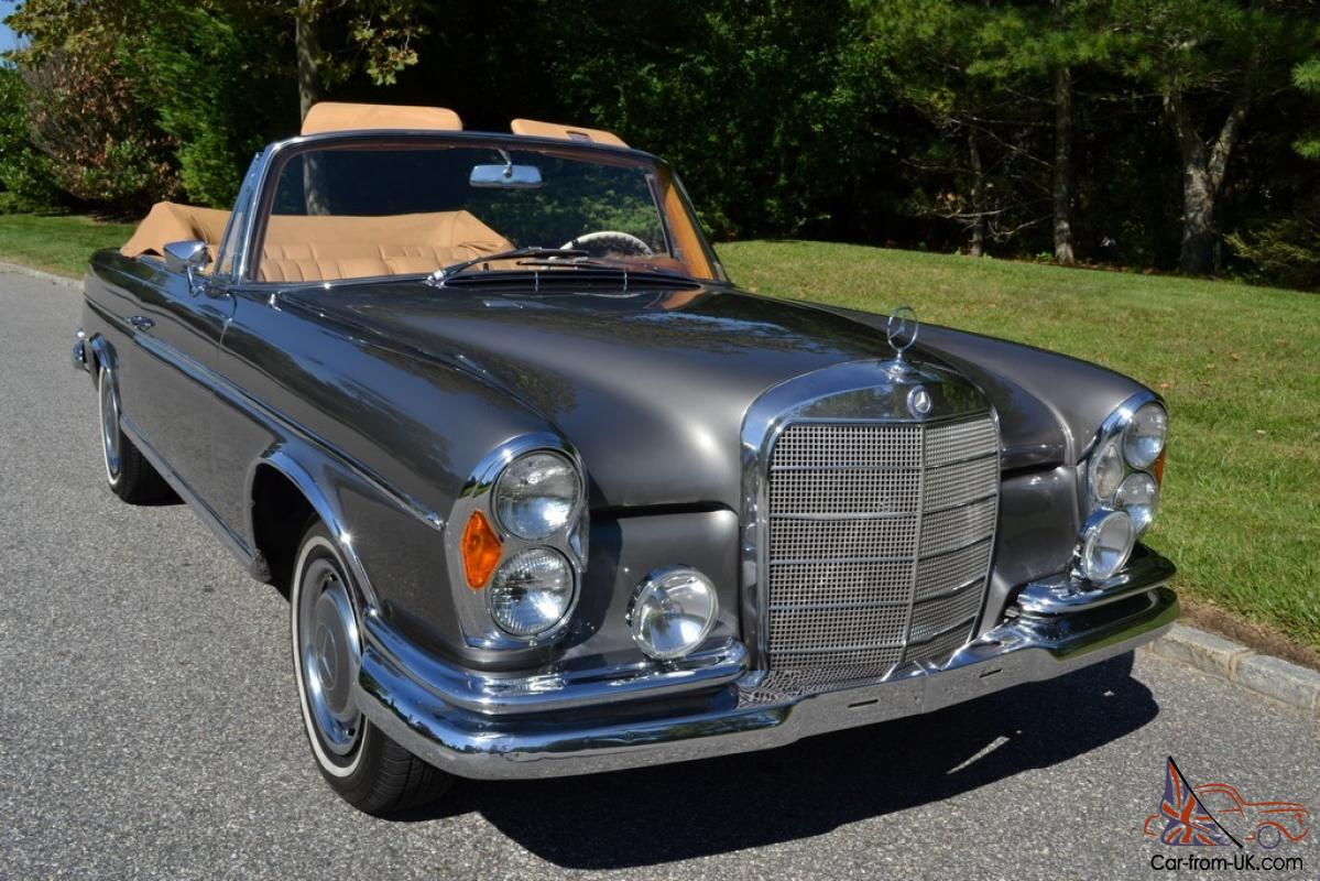 1965 Mercedes 300se Cabriolet In Excellent Condition