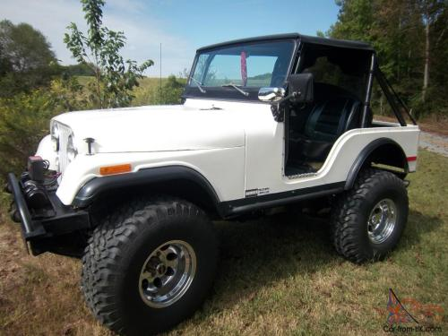 small resolution of 1975 jeep cj5 custom build 330hp v8 matkins boxed frame kevlar body photo