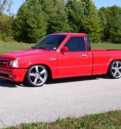 1988 mazda b2200 standard cab minitruck lowrider bagged bodydropped irs fuel inj [ 1066 x 800 Pixel ]