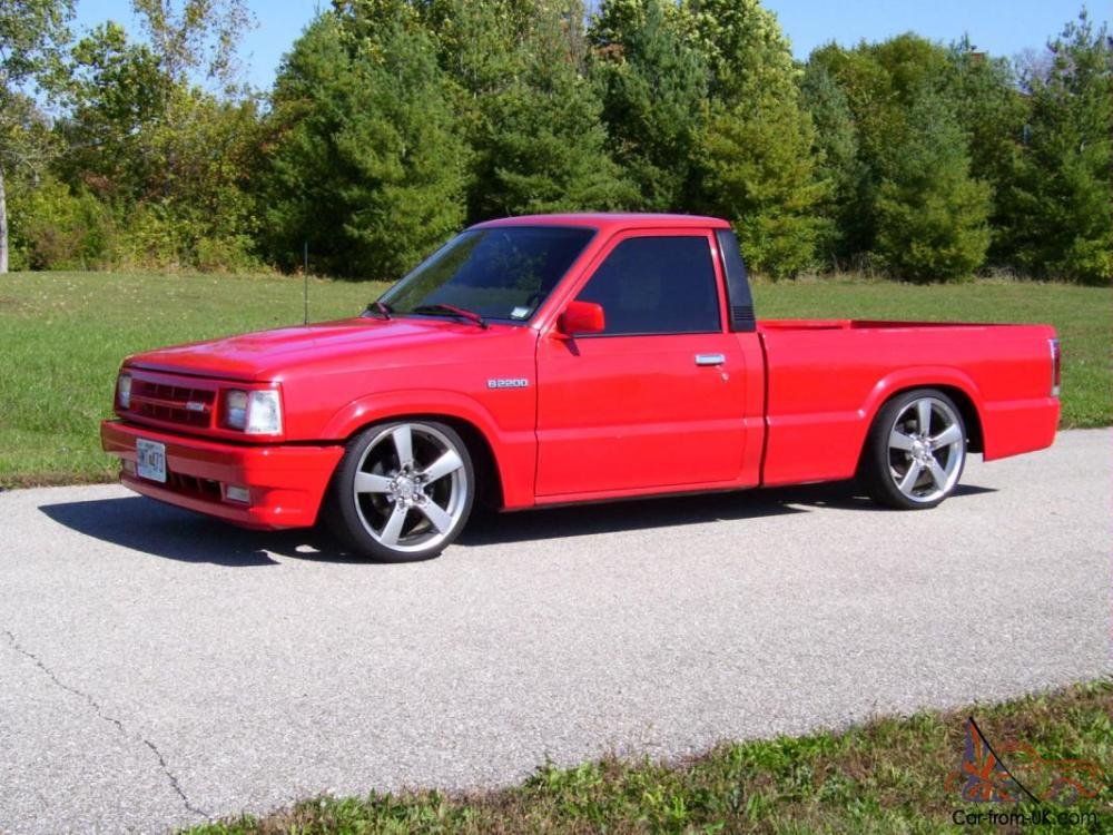 medium resolution of 1988 mazda b2200 standard cab minitruck lowrider bagged bodydropped irs fuel inj