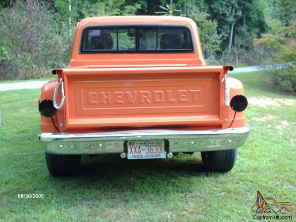1968 Chevy C10 Stepside Year Of Clean Water