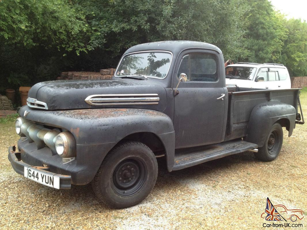 hight resolution of 1951 ford f3 pick up truck hot rod rat v8 flathead