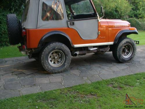 small resolution of cj jeep fitted with chevy part exchange considered jpg 1066x800 jeep cj5 side pipes
