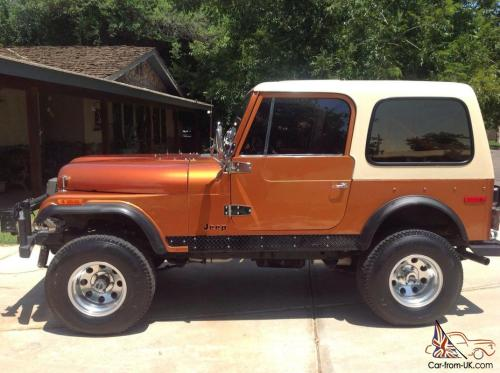 small resolution of 1978 jeep cj 7 golden eagle excellent condition pro restoration photo