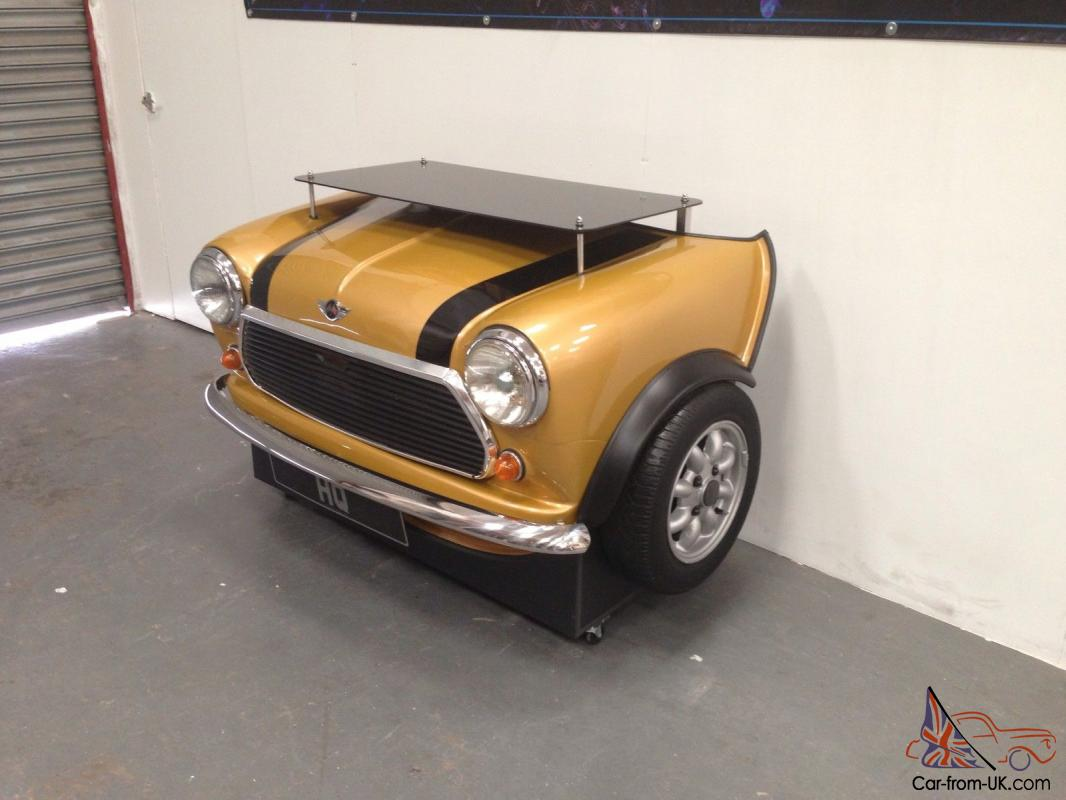 Custom Mini Cooper Desk Classic Car Its Furniture Made