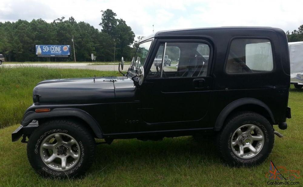 medium resolution of 1984 jeep cj7 hardtop 4 2l 6 cylinder not cj5 or wrangler no reserve
