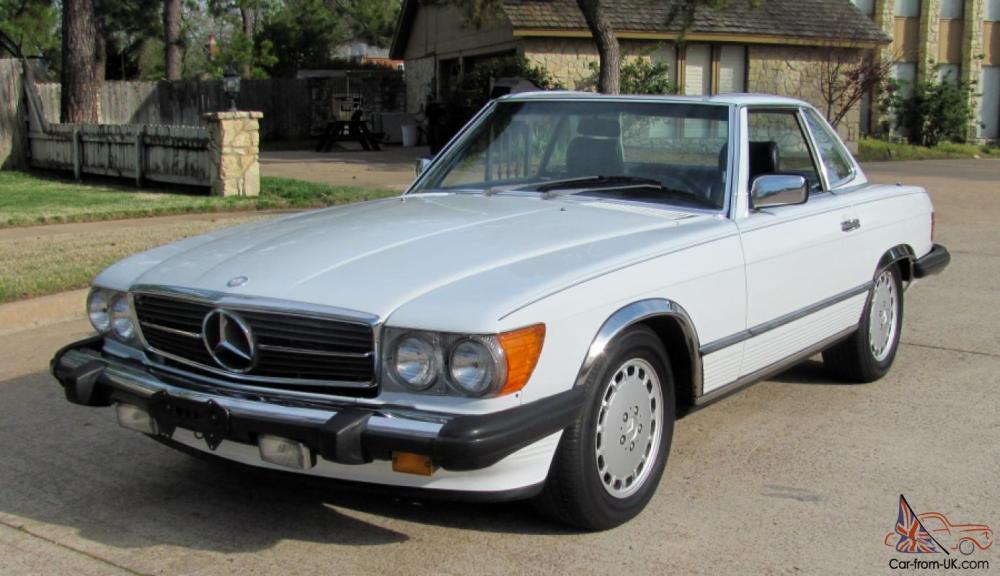 medium resolution of 1986 mercedes benz 560sl convertible 83k miles mercedes benz r350 fuse box 1986 mercedes benz 560sl