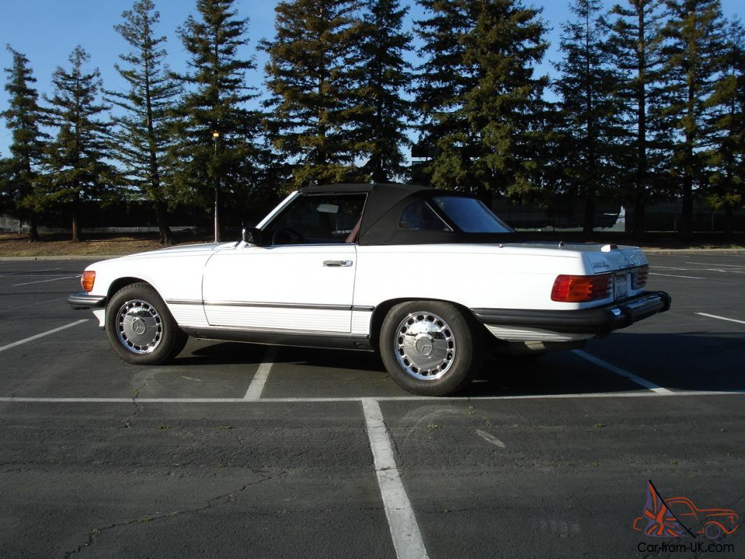 1989 Mercedes Sl600 Convertible