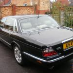Daimler Super V8 Lwb Limo Xjr Supercharged Jaguar Black With Cream Leather