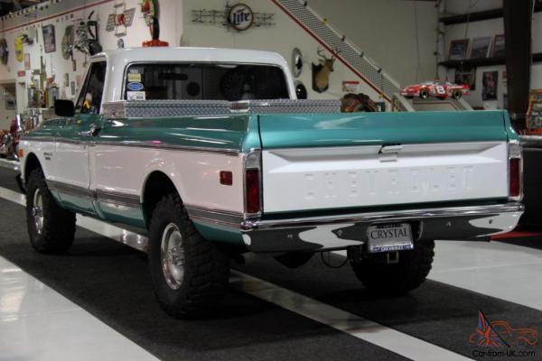 1971 Chevrolet 10 Custom 4x4 Pickup Truck