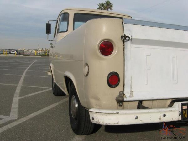 1964 Ford Econoline Truck Engine - Year of Clean Water