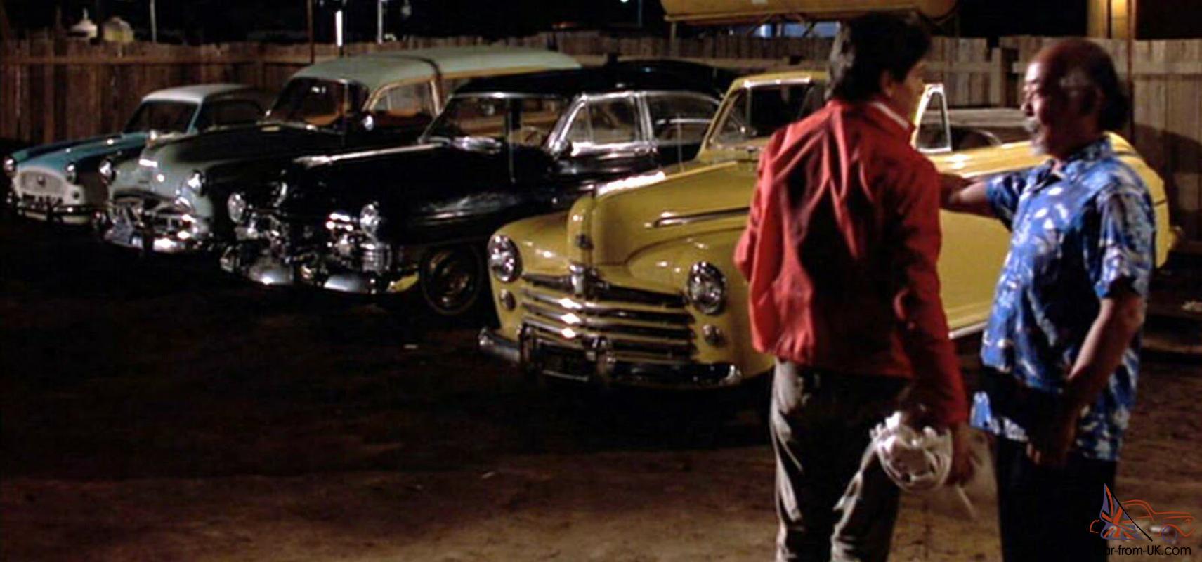 Ford 1947 Convertible Movie Car Karate Kid Wax On Wax Off Prop