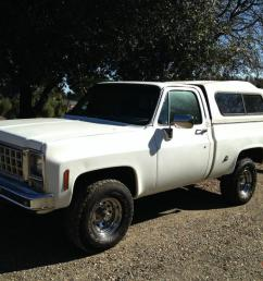 1978 chevy short bed 4x4 solid ca truck photo [ 1066 x 800 Pixel ]