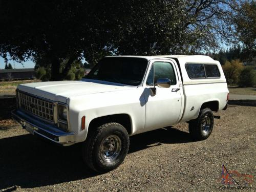 small resolution of 1978 chevy short bed 4x4 solid ca truck photo