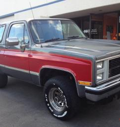 1987 gmc jimmy 4 x 4 california car photo [ 1066 x 800 Pixel ]