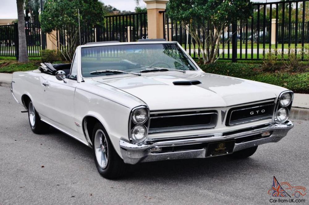 medium resolution of 1965 pontiac gto convertible rh car from uk com 1966 pontiac le mans 1965 pontiac tempest