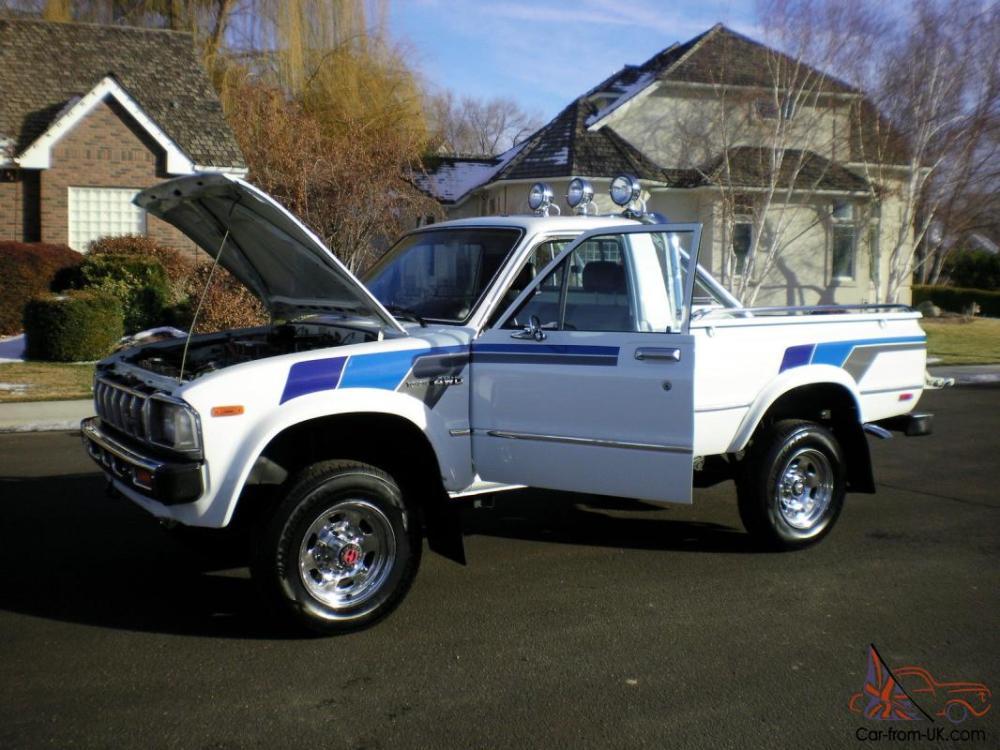 medium resolution of 1983 toyota pickup sr5 4x4 100 rust free garage kept must see photo
