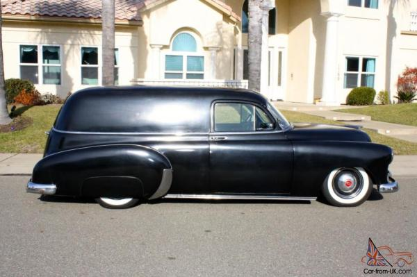 1951 Chevrolet Sedan Delivery Wagon Whitewalls 1949 1950 - Year of