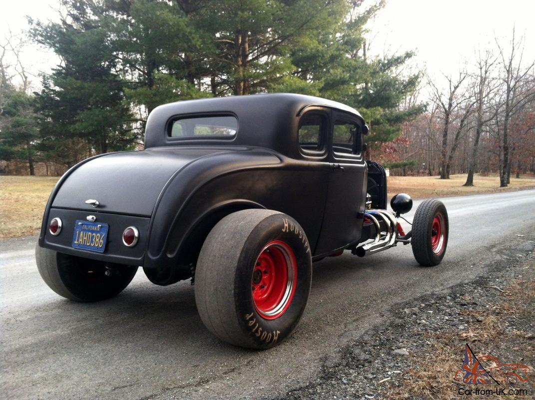 1932 Ford Henry Ford Steel Coupe 351 Big Horse Power V8 Hot Rat Rod
