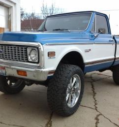 1971 chevy short box k10 cheyenne chevrolet 67 72 pickup gmc 1972 1970 1969 [ 1066 x 800 Pixel ]