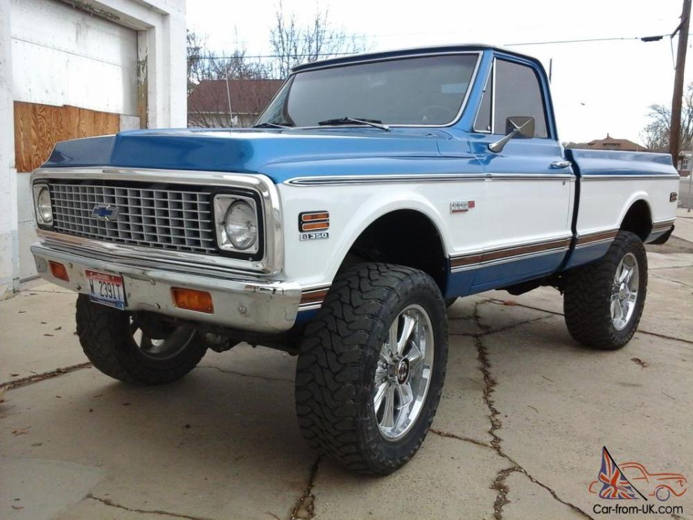 medium resolution of 1971 chevy short box k10 cheyenne chevrolet 67 72 pickup gmc 1972 1970 1969