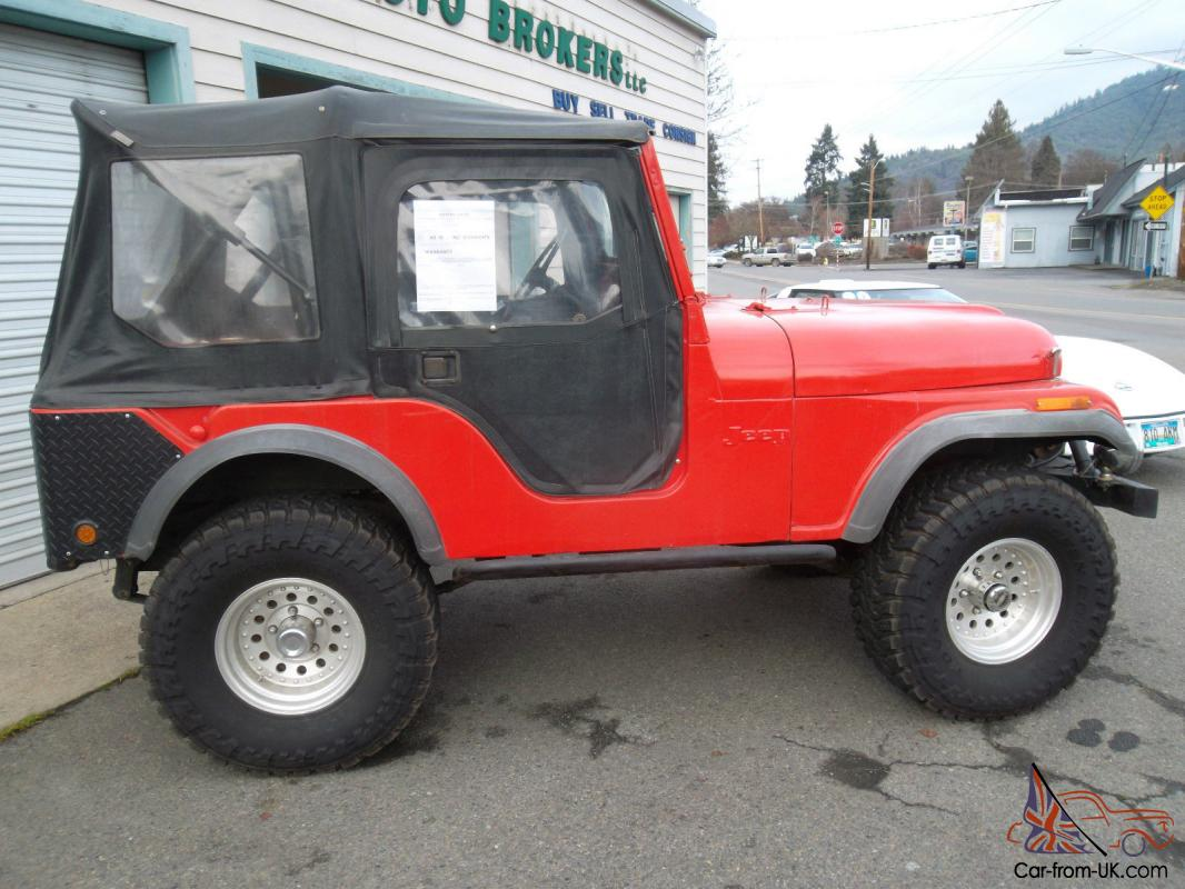 hight resolution of 1973 jeep cj5 suv inline 6 3 speed manual 4wd very