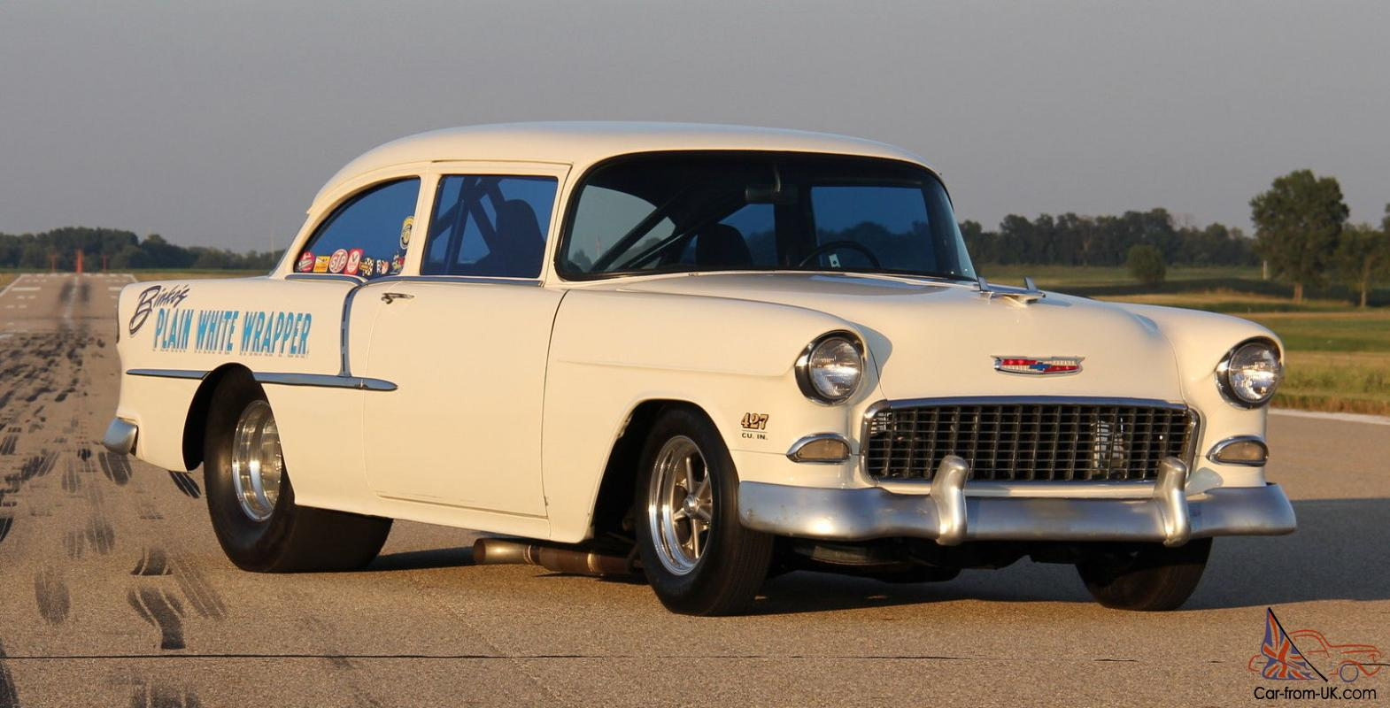 hight resolution of 1955 chevy drag pro street california car titled 427 bbc 4 speed hot rod gasser