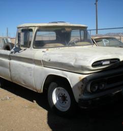 1961 chevy apache pick up gmc chevrolet c10 c20 c30 arizona rat rod custom photo [ 1066 x 800 Pixel ]