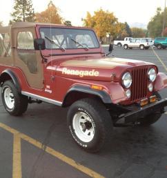 1977 jeep cj5 renegade levi s edition photo [ 1066 x 800 Pixel ]