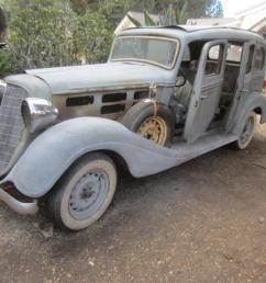 1934 hudson 8 cylinder 4 door sedan dual side mount spare tires not terraplane [ 1066 x 800 Pixel ]