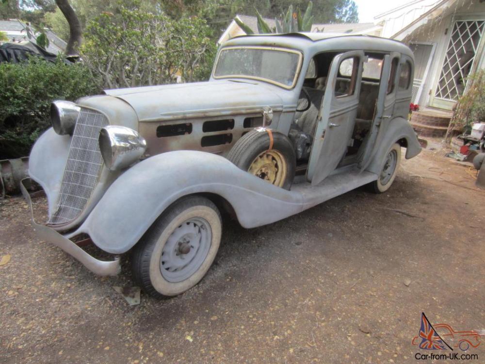 medium resolution of 1934 hudson 8 cylinder 4 door sedan dual side mount spare tires not terraplane