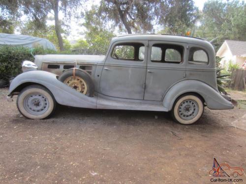 small resolution of 1934 hudson 8 cylinder 4 door sedan dual side mount spare tires not terraplane