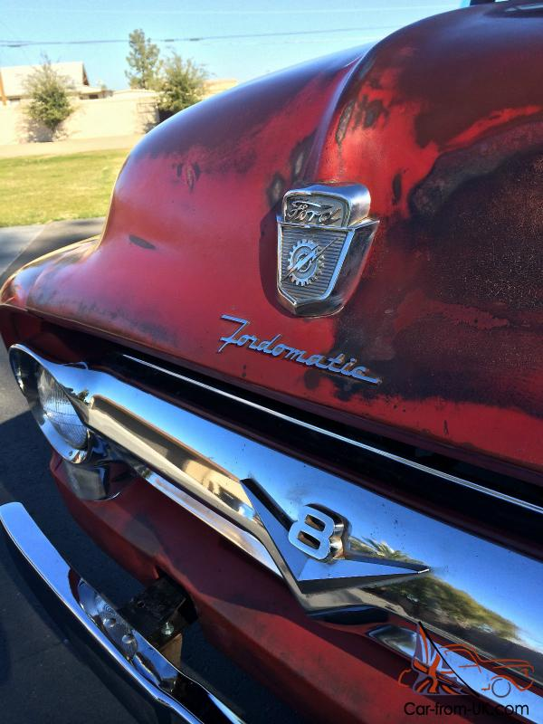 1956 Ford F100 Custom Pickup Truck