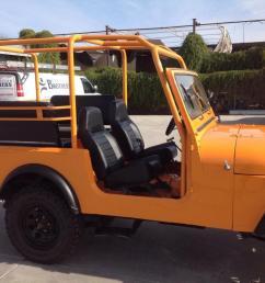 jeep cj7 orange [ 1071 x 800 Pixel ]