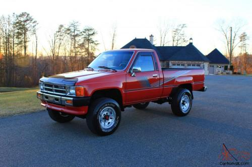small resolution of 87 toyota 4x4 pickup 22r a c