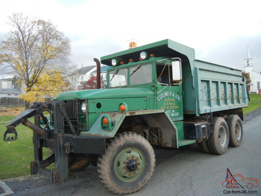 1967 Kaiser Jeep 5 Ton Military Dump Truck