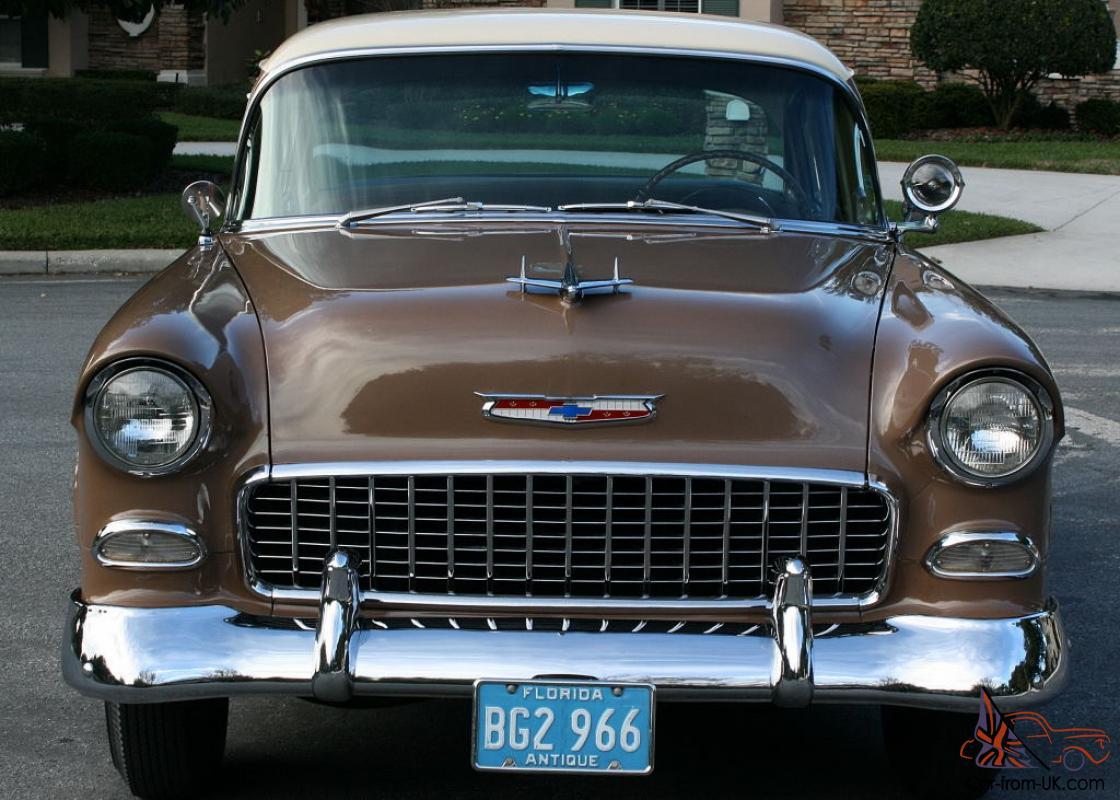 1955 Chevy Car Colors
