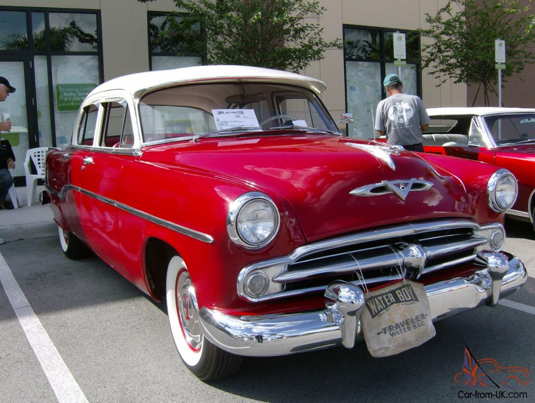 hight resolution of 1954 dodge coronet sedan hemi v8 photo