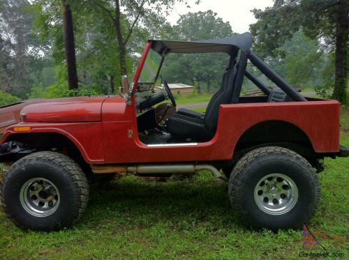 small resolution of 1980 jeep cj7 base sport utility 2 door 5 0l photo