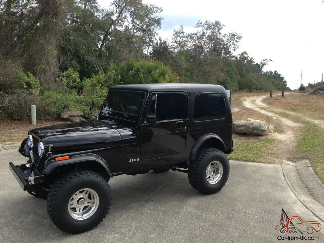 hight resolution of 1984 jeep cj7 wrangler fuel injected 350 auto 4 10 gears 4 wheel disc brakes