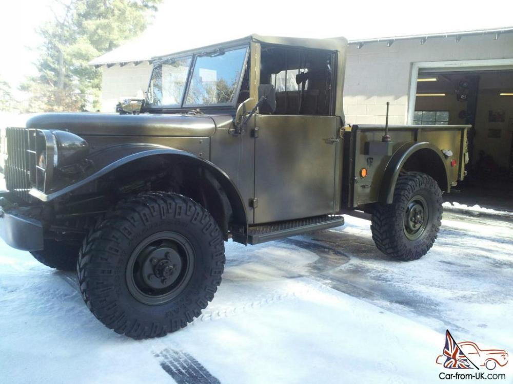 medium resolution of 1955 dodge m37 power wagon