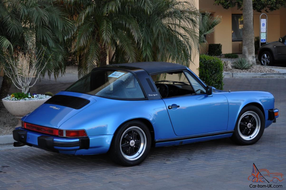 hight resolution of 1982 porsche 911 sc targa in excellent condition