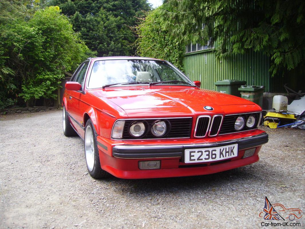 hight resolution of 1988 bmw 635 csi auto red